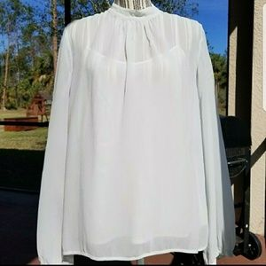Greylin silk top